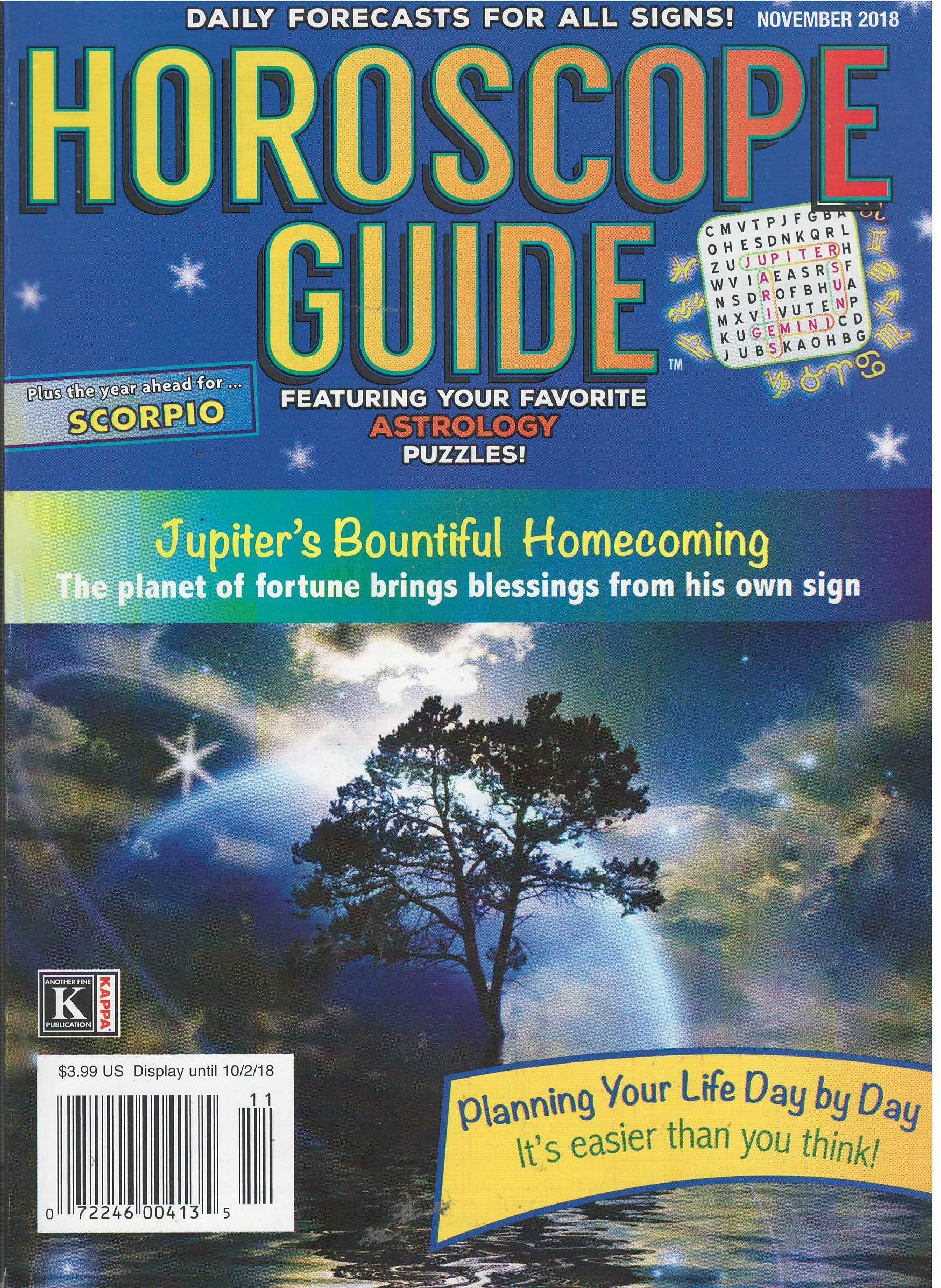 18 magazine november horoscopes