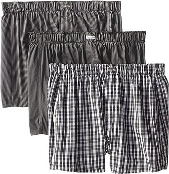 Calvin Klein Men's Cotton Classics Multipack Woven Boxers