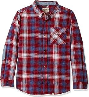 Lucky Brand Baby Boys Long Sleeve Plaid Button Down Shirt