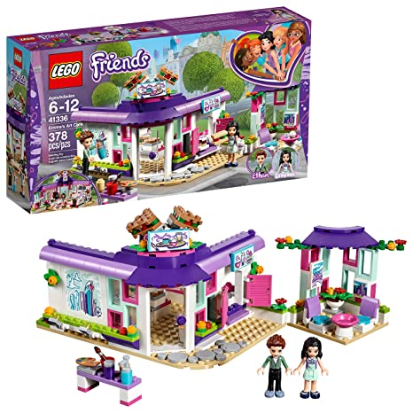 Amazoncom Lego Friends Emmas Art Café 41336 Building Set 378