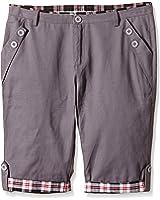 HEMOON Herren Bermudas Shorts Vintag Kurze Hose Kariert Knielang 1/2