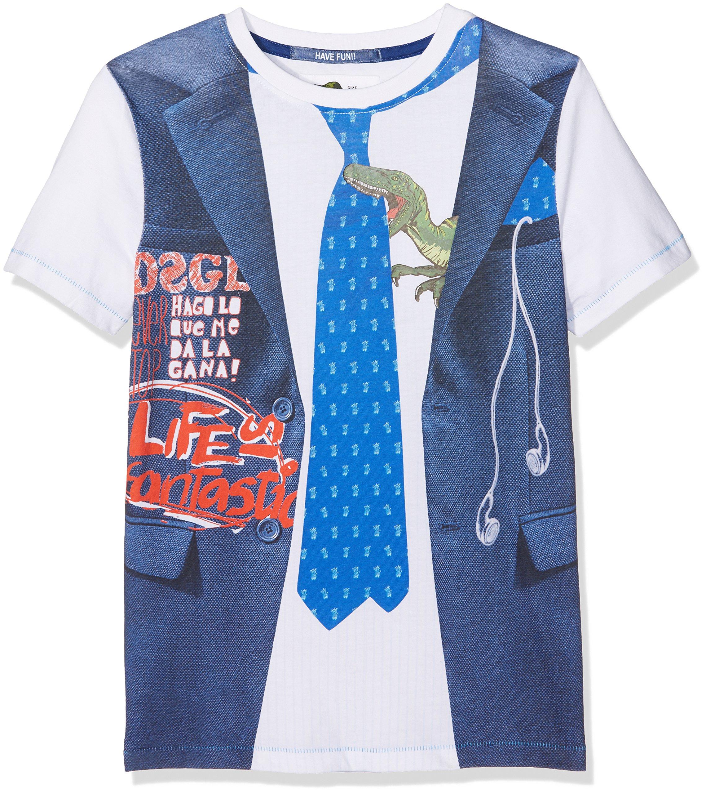 Desigual Boys' T-shirt Diego, Sizes 4-14 (11/12) by Desigual
