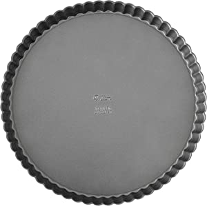Wilton Excelle Elite Non-Stick Tart and Quiche Pan with Removable Bottom, 9-Inch - 2105-442