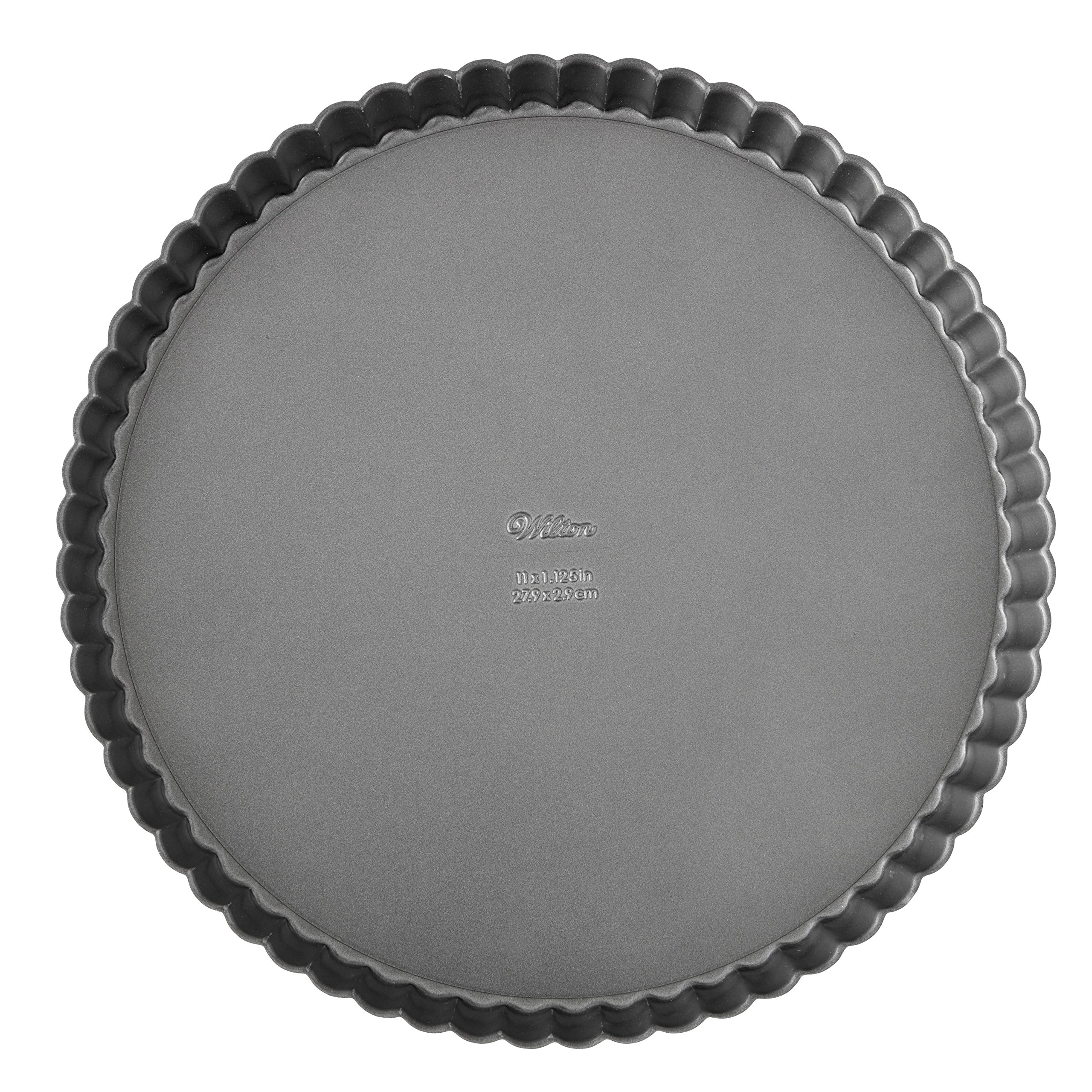 Wilton Excelle Elite Non-Stick Tart Pan and Quiche Pan with Removable Bottom, 9-Inch