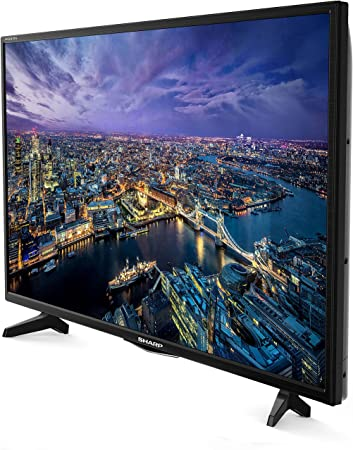 Sharp LC 40 FG5342E - 102 cm (40 Zoll) TV (Full HD, Smart TV, WLAN, Triple Tuner (DVB T2), USB): Amazon.es: Electrónica