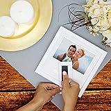 Heart Thumbprint Photo Frame and Ink Kit, White