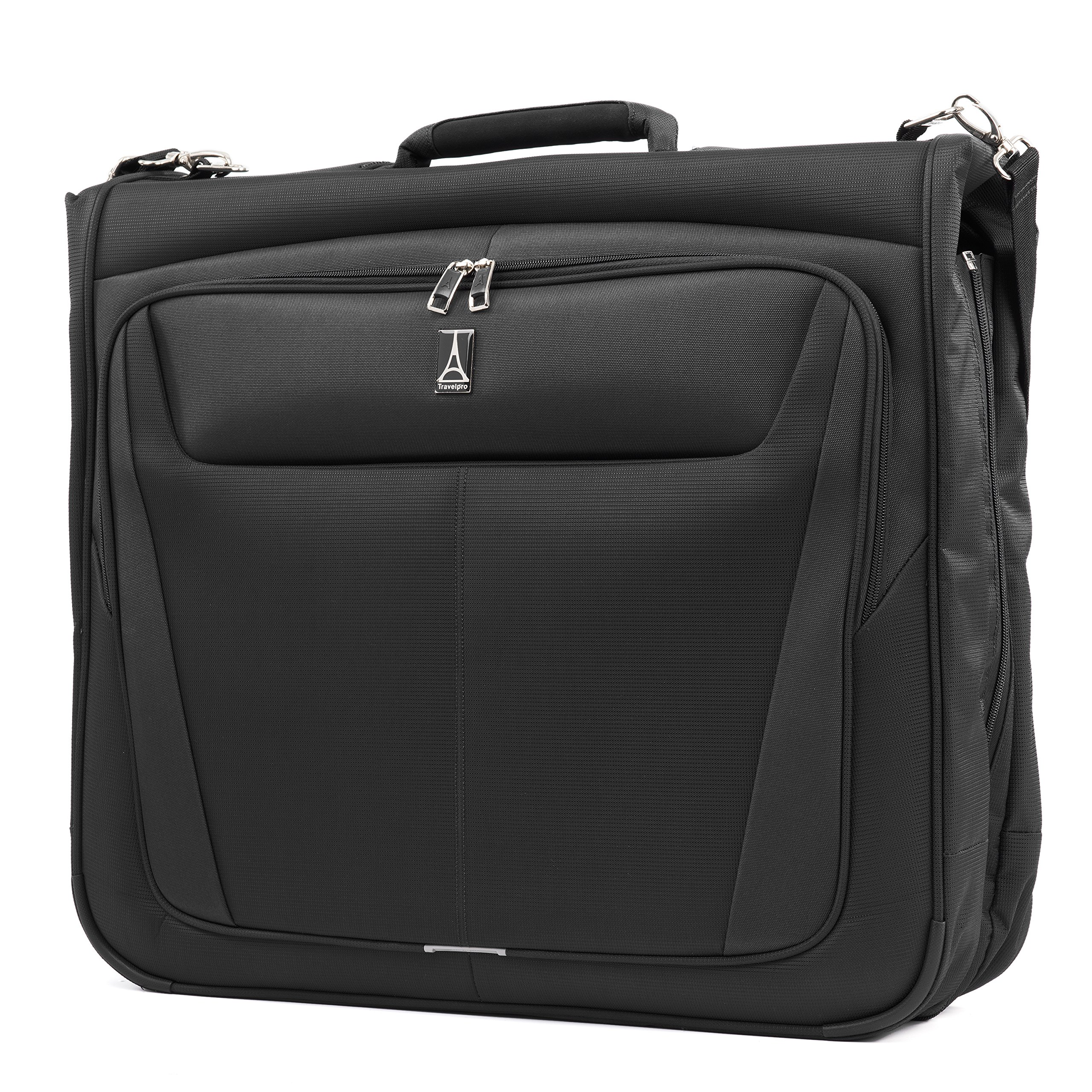 Travelpro Luggage Maxlite 5 22'' Lightweight Bi-Fold Carry-on Garment Bag, Suitcase, Black