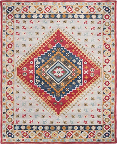 Safavieh Heritage Collection HG425F Handmade Traditional Wool Area Rug