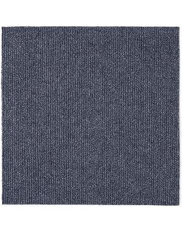 Achim Home Furnishings NXCRPTSM12 Nexus 12 inch x 12 inch Self Adhesive Carpet Floor Tile,