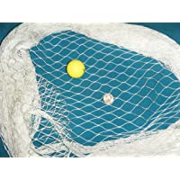Golf Net, LaCrosse, Street Hockey Netting And Sports Nets. 12' ft High. Choose Your Length, Sports Netting Replacement Nylon Barrier Net (Lacrosse and Soccer/Multi-Sport)