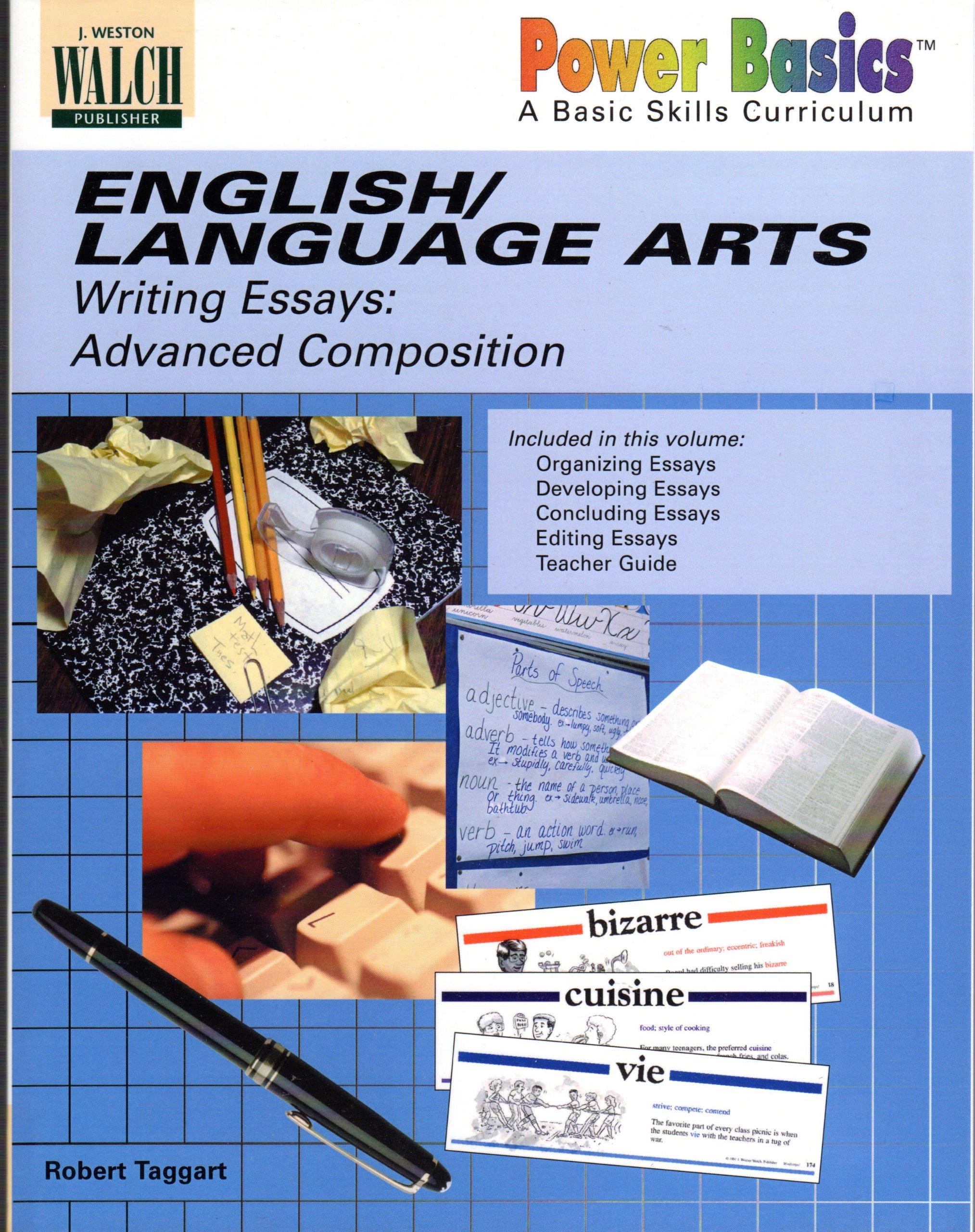 English/Language Arts: Writing Essays: Advanced Composition pdf epub