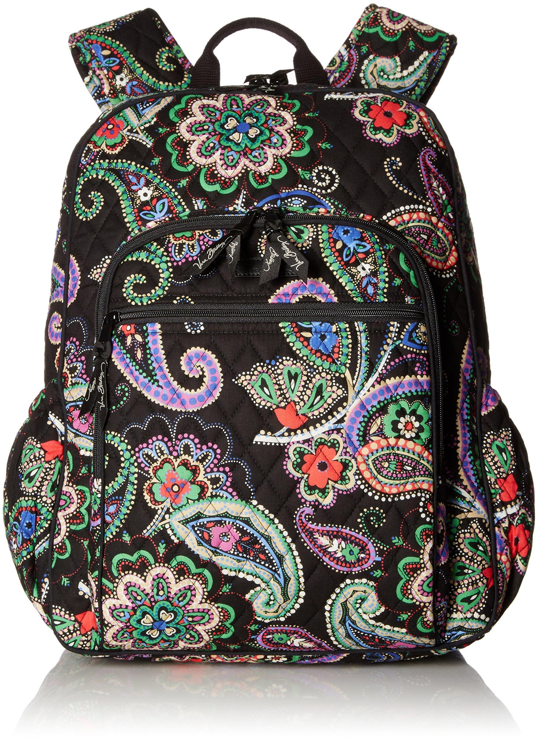 Women's Campus Tech Backpack, Signature Cotton, Kiev Paisley
