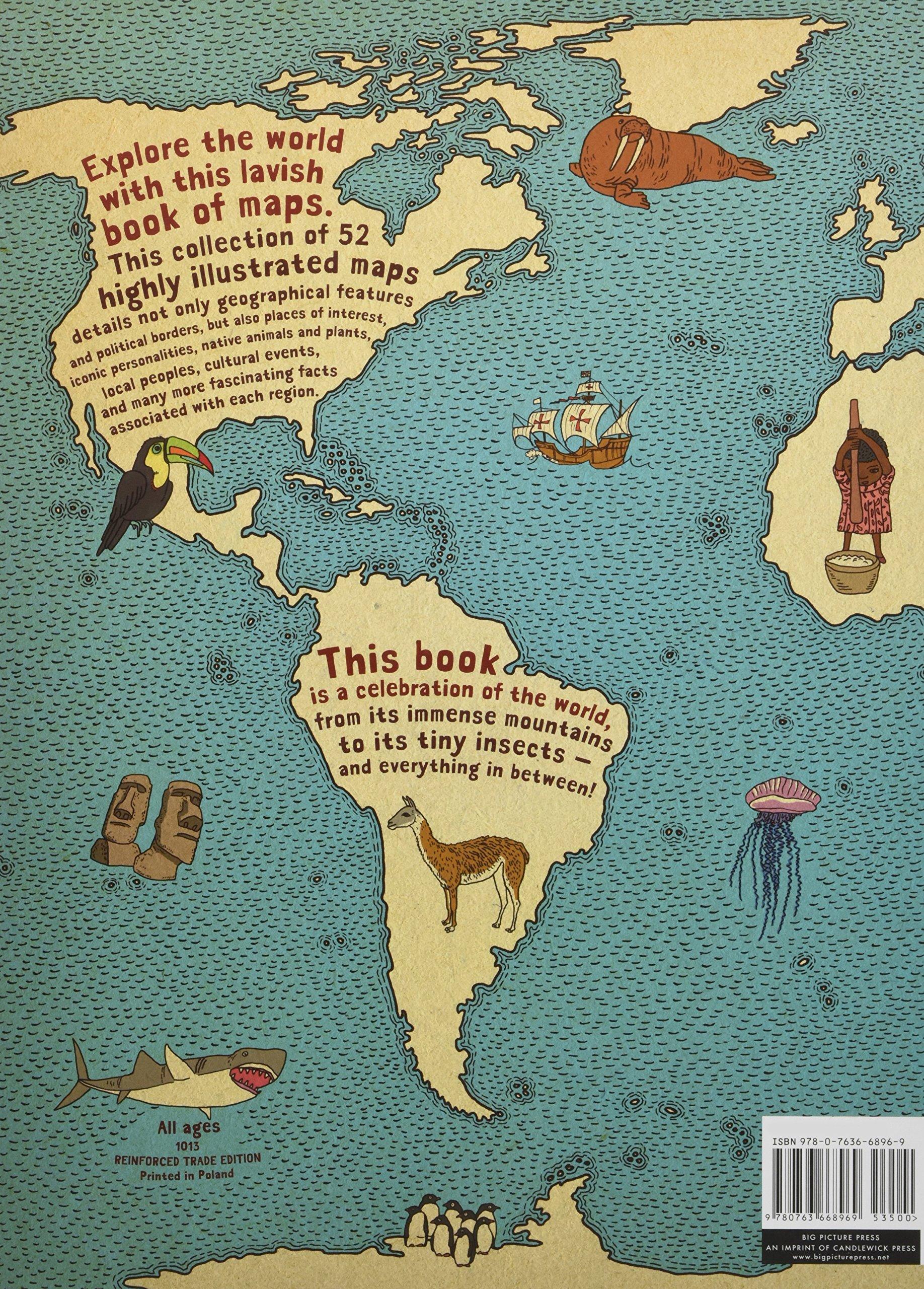 Maps Aleksandra Mizielinska Daniel Mizielinski - Pictures of maps