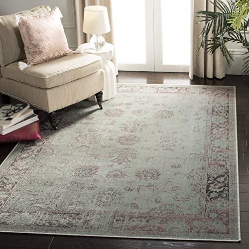 Safavieh Vintage Collection VTG117-2111 Oriental Distressed Silky Viscose Area Rug