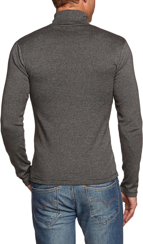 Marc OPolo - Camiseta con Cuello Cisne de Manga Larga para Hombre ...