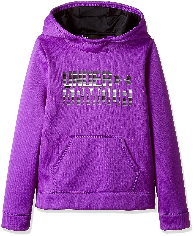 Girls Under Armour Armour Fleece Wordmark Hoodie