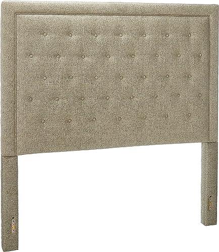 Leffler Home Midori Eden Upholstered Tufted Bed - the best modern headboard for the money