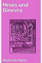 Mnais und Ginevra (German Edition) Kindle Edition