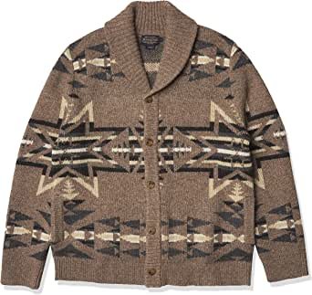 Pendleton Men's Shetland Shawl Cardigan Sweater