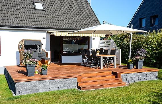 Isotronic 4x lámpara LED solar para jardín, balcón y Exterior con estaca Camino Iluminación: Amazon.es: Iluminación