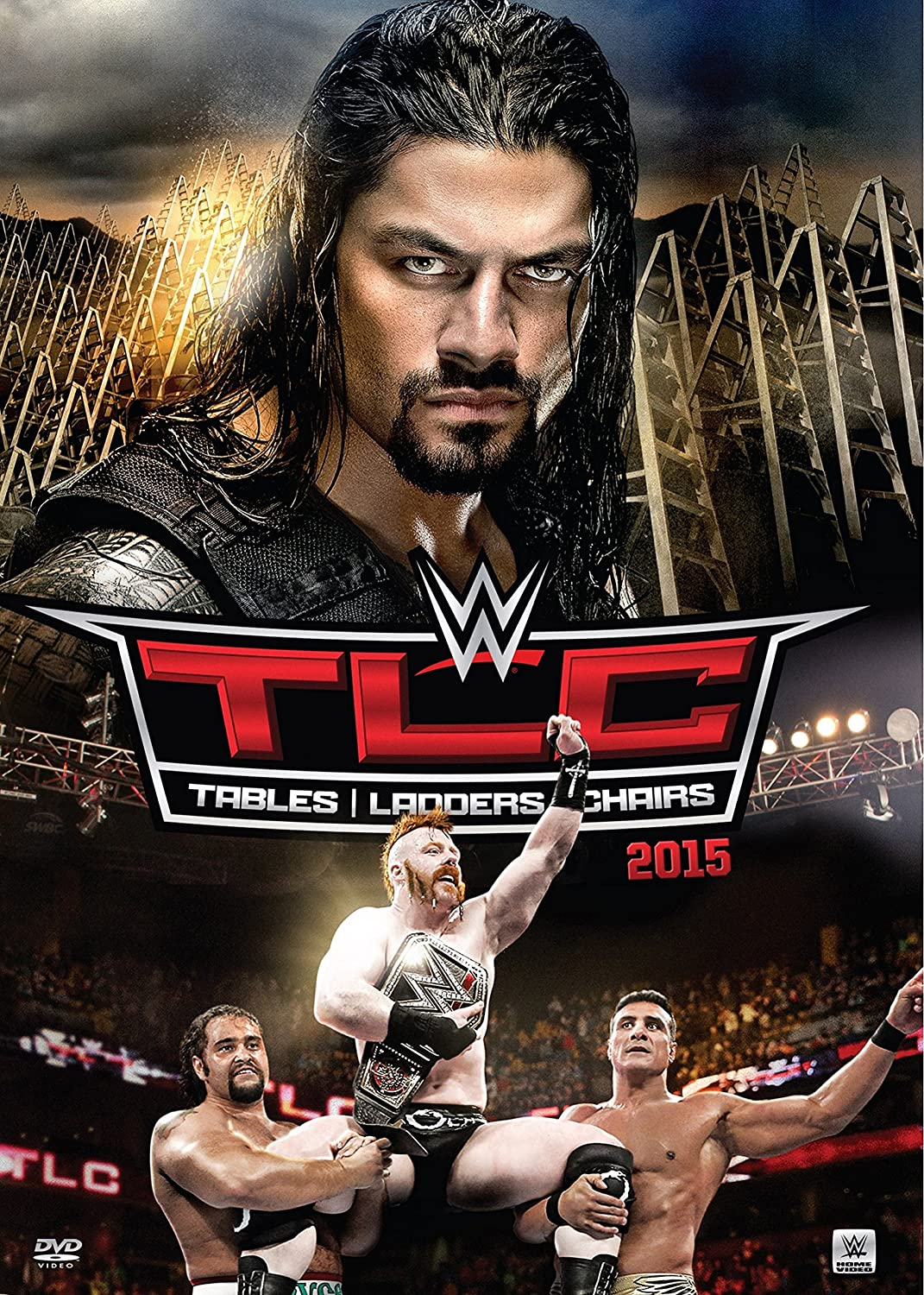 Wwe tables ladders and chairs 2013 poster - Amazon Com Wwe Tlc Tables Ladders And Chairs 2015 Sheamus Roman Reigns Kevin Owens Dean Ambrose The New Day The Usos Lucha Dragons