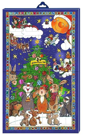 Goldmännchen Wand Adventskalender Mit 24 Verschiedenen Teesorten, Groß,  1er Pack (