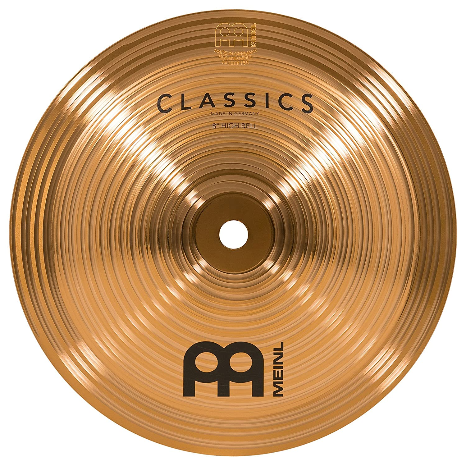 Meinl Cymbals C8BH 8-Inch Classics Traditional High Bell