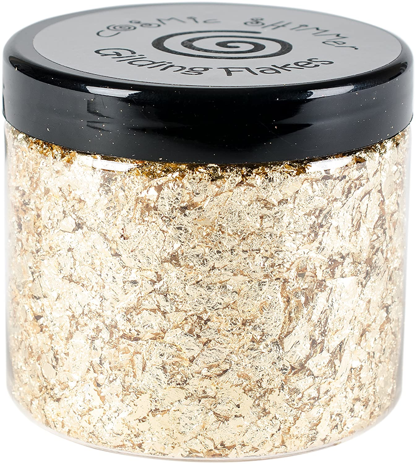 Cosmic Shimmer Gilding Flakes 200ml Pot - Golden Jewel Creative Expressions CSGFGOLD