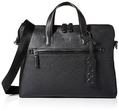 3161eaa75fd2 Amazon.com  HUGO by Hugo Boss Men s Victorian Leather Single ...