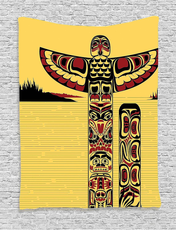 Amazon.com: Ambesonne Native American Decor Collection, Original ...