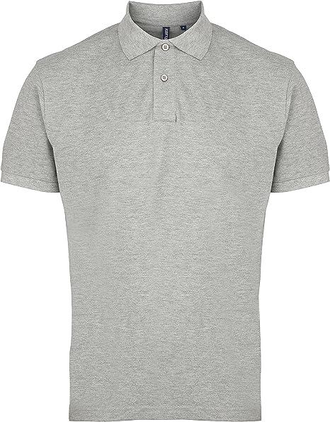 Asquith Fox Camisa de Polo para Hombre AQ010 Gris Gris Medium ...