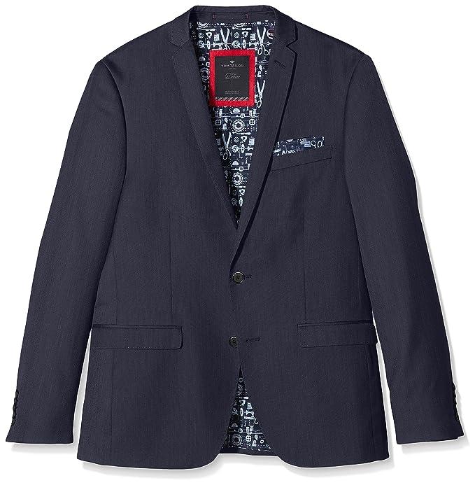 Hose Anzug/601, Traje Para Hombre, Azul (Navy 6000), 44 Tom Tailor