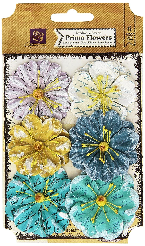 ラベル紙の花 1.5