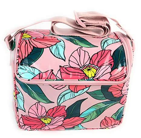 Image Unavailable. Image not available for. Color  Vera Bradley Stay Cooler  Insulated Lunch Box Vintage Floral 7fa6fce3376a6
