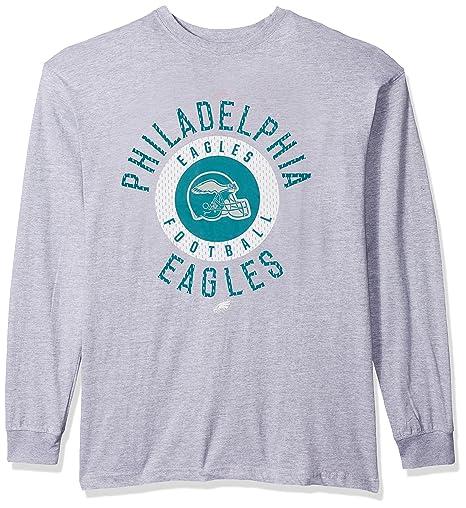 Amazon.com   NFL Philadelphia Eagles Men L S TEE SCREEN TEE a5d209f39