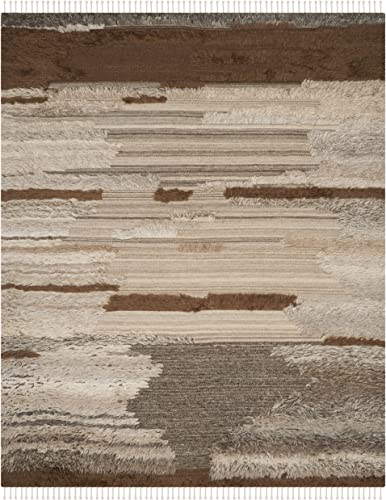 Safavieh Kenya Collection KNY225A Grey and Brown Area Rug, 9 x 12
