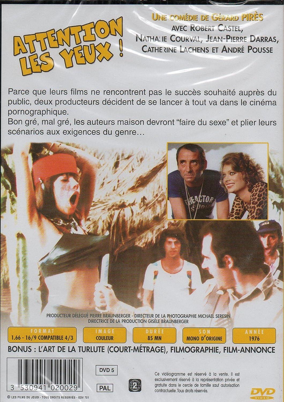 Attention les yeux !: Amazon.fr: Claude Brasseur, Daniel Auteuil, Robert  Castel, Nathalie Courval, Jean-Pierre Darras, Guy Marchand, Gérard Pirès:  DVD ...