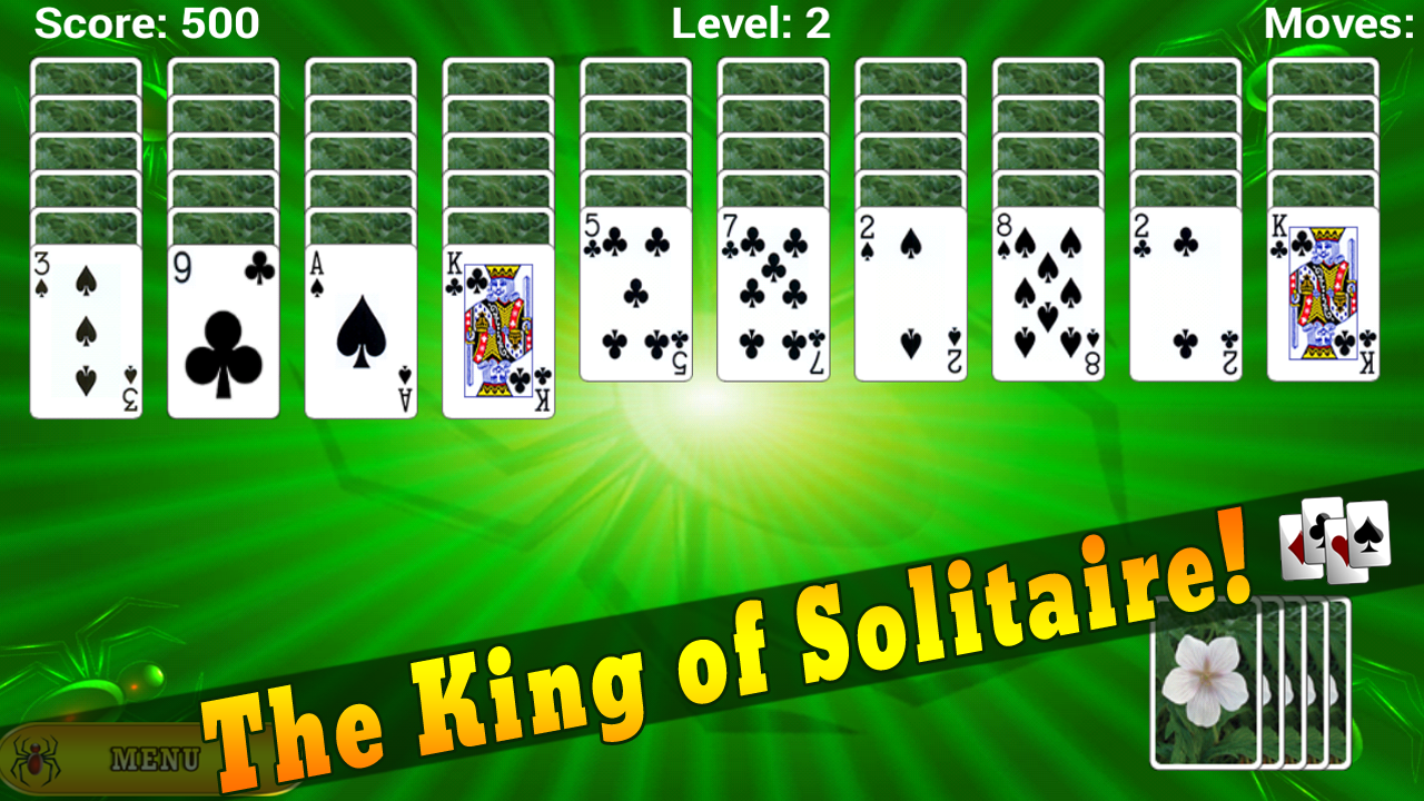 Amazon.com: Spider Solitaire Free for Kindle - Solitare ... | 1280 x 720 png 1262kB