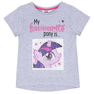 I heart unicorns Girls My Little Pony T-shirt White 3-4 Years