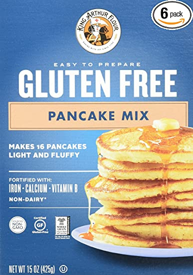 Amazon king arthur flour gluten free pancake mix 15 ounce king arthur flour gluten free pancake mix 15 ounce pack of 6 ccuart
