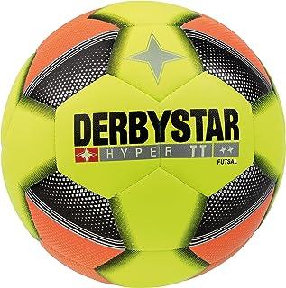 Derbystar Adultes Hyper TT Futsal, Jaune Orange Noir, 4