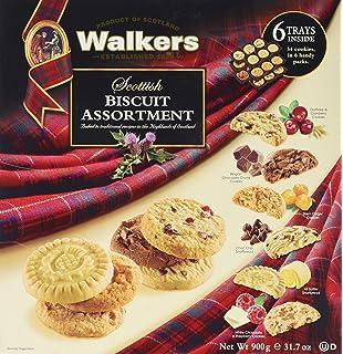 Walkers Premium Shortbread Selection 4 Varieties Gift Tin Net Wt 46
