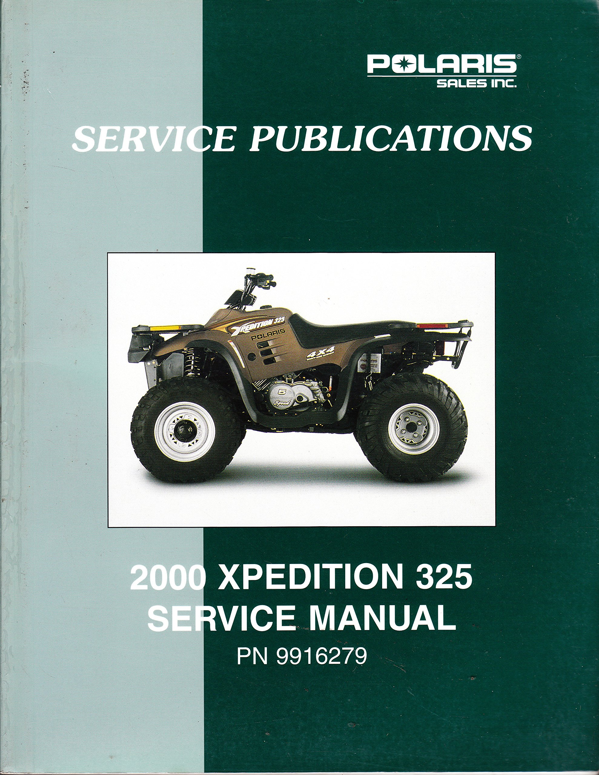 Polaris ATV 2000 Xpedition 325 Service Repair Manual #9916279: Polaris:  6122905641509: Amazon.com: Books