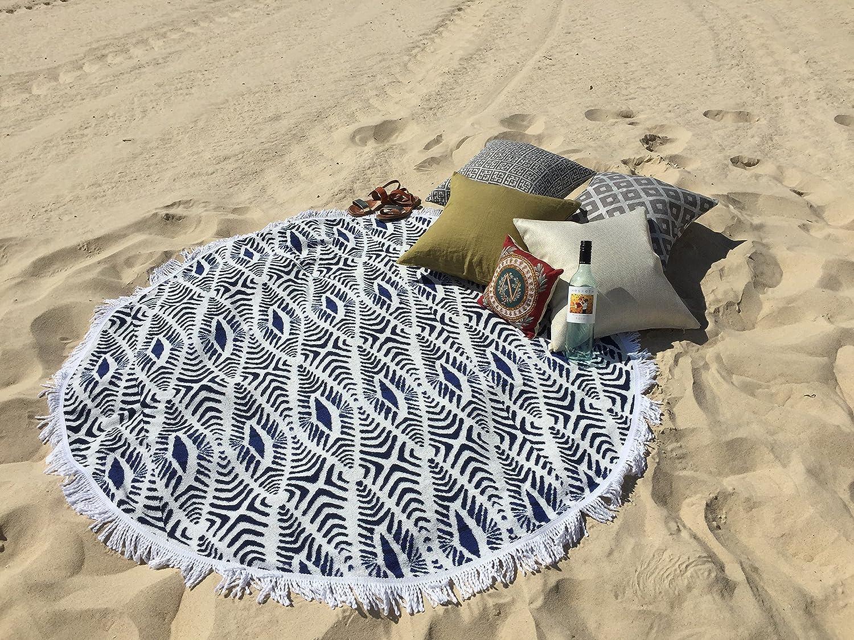 ラウンドビーチタオルとは