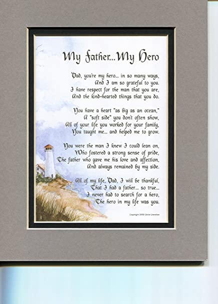 Amazon com: A Father's Day Gift Present Poem Or Birthday Or