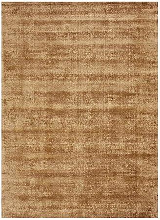 Bakero Teppiche Rio Viskose Baumwolle Taupe 190 X 130 X 1 3 Cm