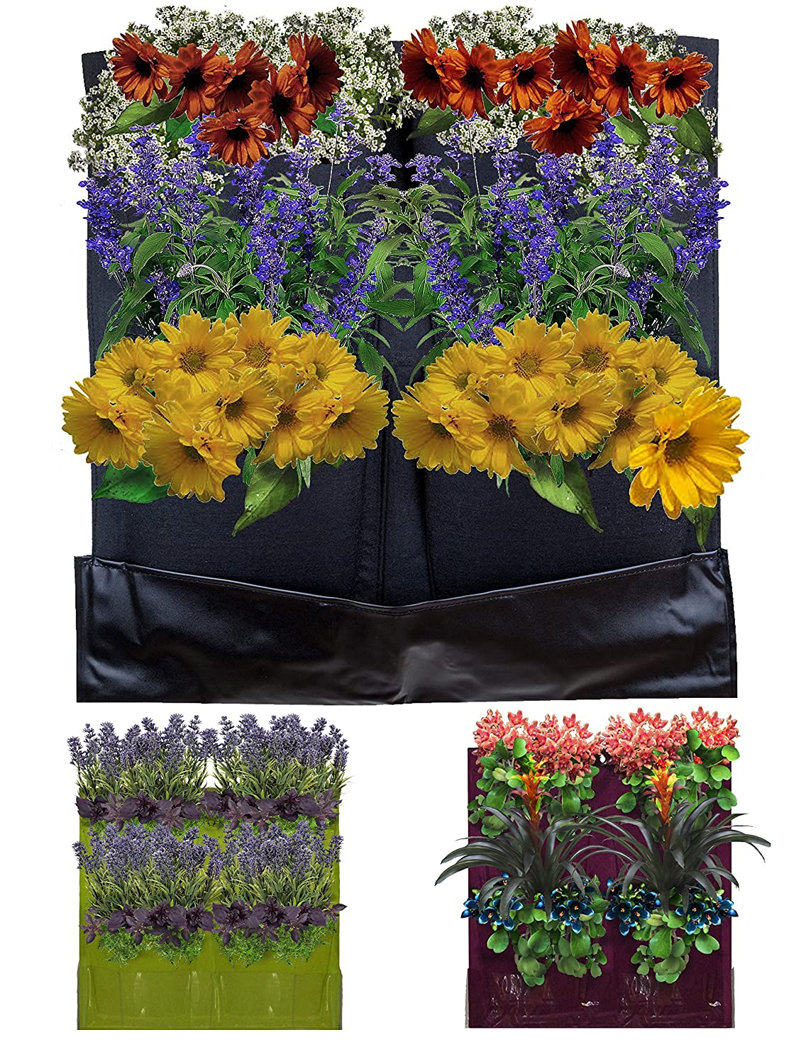 design grow planting green wall horizontal garden best planter decoration walls of vertical bag pocket pot