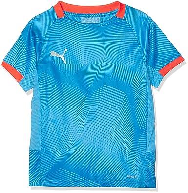 9ab305323cf Puma Children's Ftblnxt Graphic Shirt Jr T: Amazon.co.uk: Clothing