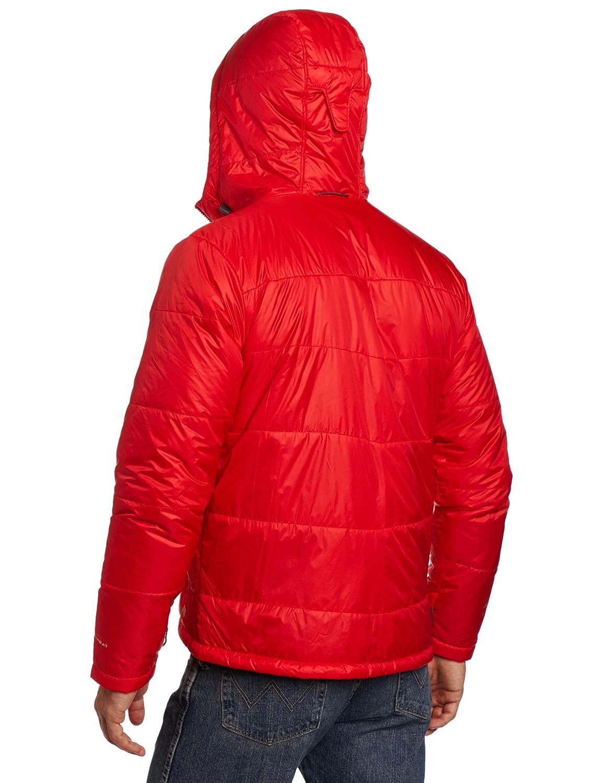 Chaqueta con capucha Shimmer Me Timbers II para hombre, rojo brillante, grande: Amazon.es: Deportes y aire libre