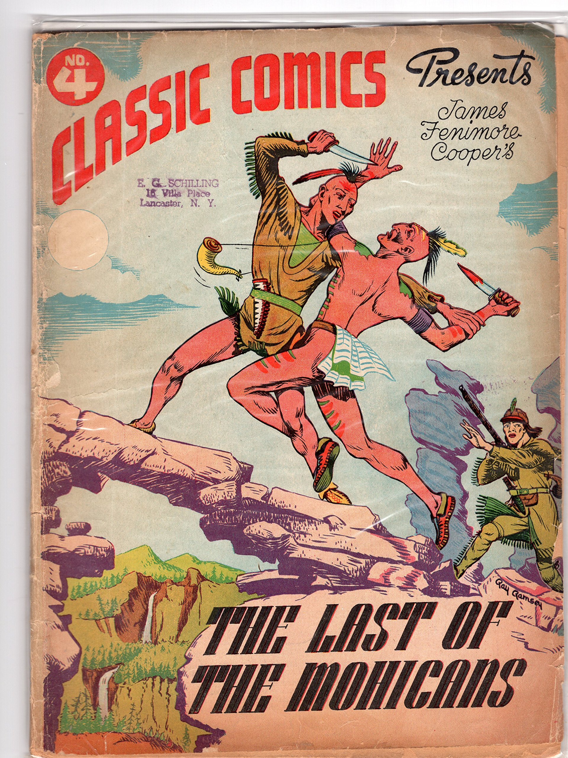 Amazon.com: The Last of the Mohicans (Classic Comics, Volume ...